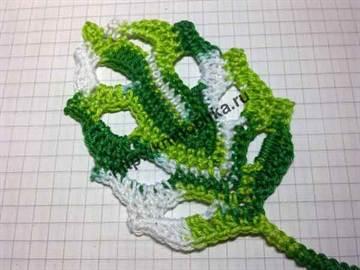 листок с дырочками