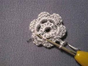 объемный цветок пошаговая инструкция
