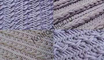вязание кофты вилкой фото