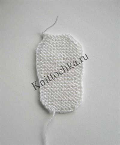 вязание пинеток спицами, описание работы