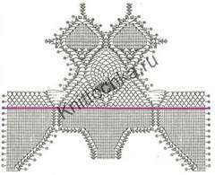 схемы вязания купальников крючком
