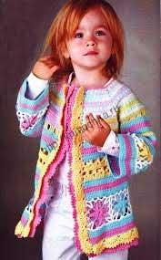 выбор узора и цвета при вязании детских вещей