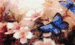 Вышивка алмазной мозаикой техника
