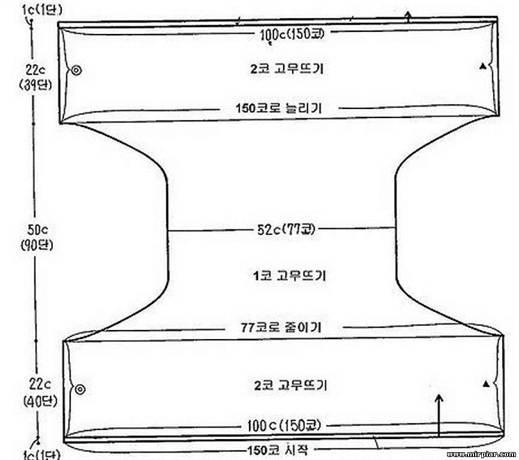 рады любым схема жилета связанного одним полотном с описанием своей задачей