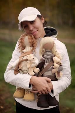 Куколки из фетра своими руками 33