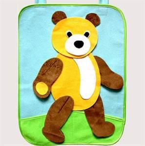 Поделка медведь из ткани