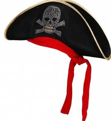 Шляпа пирата своими руками 40