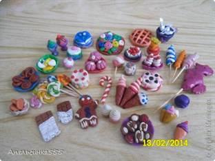 Что можно сделать для кукол из пластилина еду