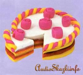 Как сделать из пластилина торт для кукол