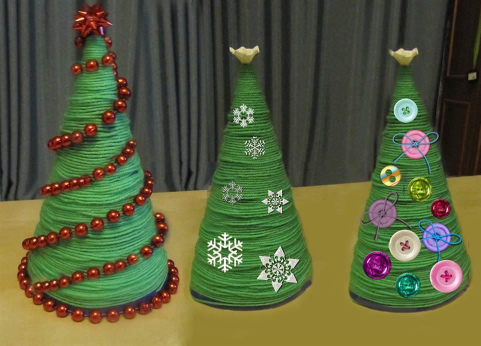 Новогодние поделки своими руками пошаговая инструкция фото фото 128