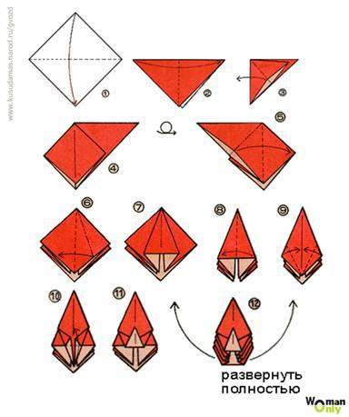Шары из бумаги кусудама схемы для начинающих