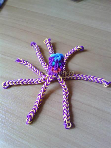 Мастер класс плетения из резинок - Фото дом