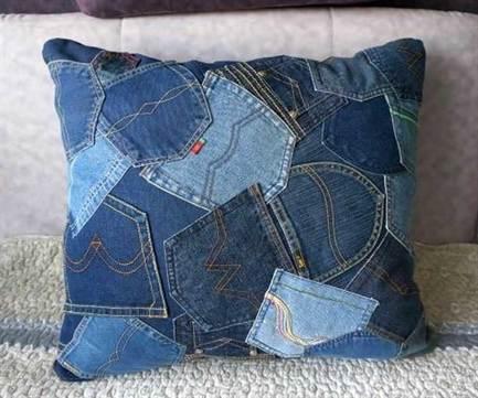 Из джинса для дома своими руками