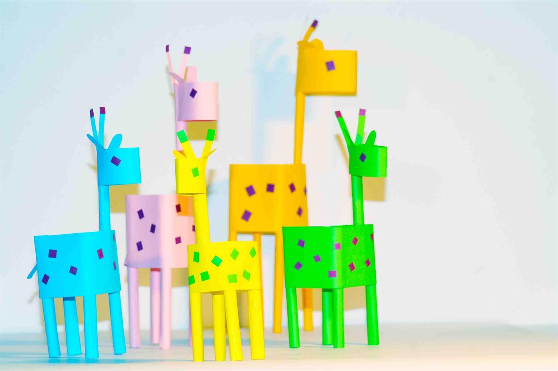 Поделки и цветной бумаги для детей 88