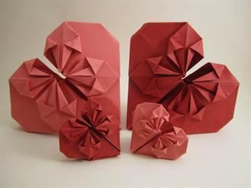 Оригами коробочка сердце схема фото 251