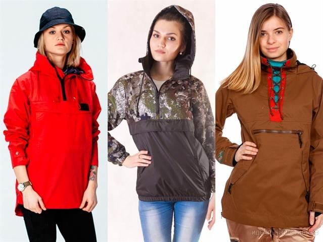 Анорак для девушек: с чем носить и как сшить своими руками