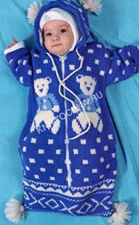 вязание для новорожденных мальчиков