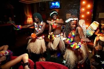 Новый год в африканском стиле