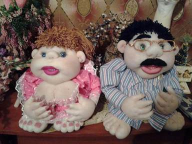 Капроновые куклы попики своими руками