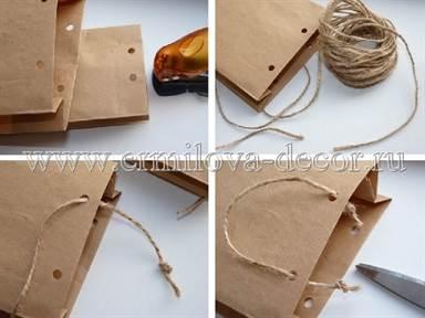 Как сделать бумажные пакетики 3
