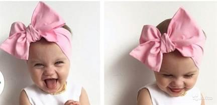Повязка бантик на голову для девочки