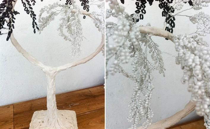 Дерево сердце из бисера схема фото 567