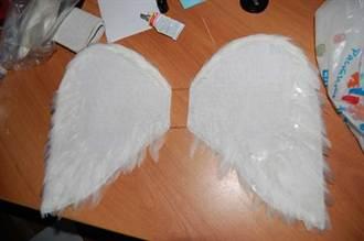 Крылышки ангелочка своими руками 5