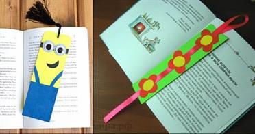 Как сделать закладки своими руками для книги
