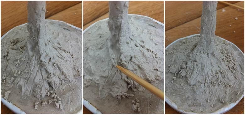 Как сделать ствол из гипса