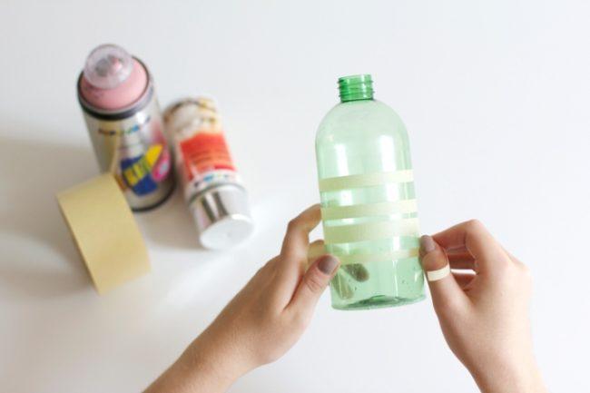 Как сделать из 3 литровой банки вазу своими руками 41