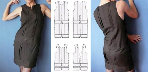 Купить офисные платья больших размеров - Lalipop