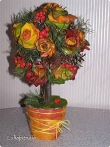 Сделать осенние цветы своими руками фото 316