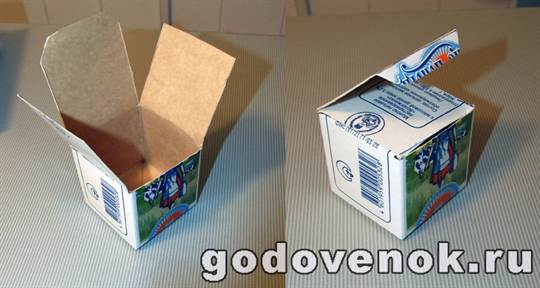 Как сделать коробку для молока своими руками 89