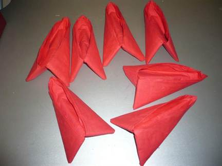 Ананас из бумажных салфеток как сделать