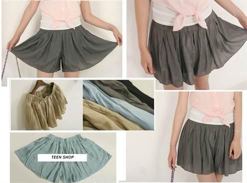 Сшить из юбки бриджи