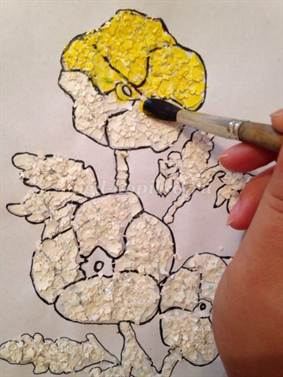 Как покрасить скорлупу для поделки 83