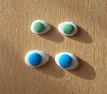 Как сделать глаз из пластика 592