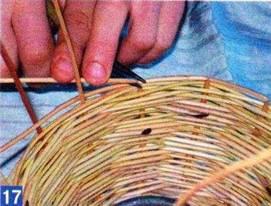 Плетение корзин пошаговая инструкция