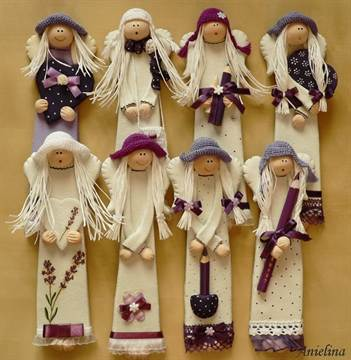 Кукла из холодного фарфор своими руками