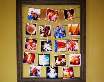 Коллаж на стену своими руками из фото