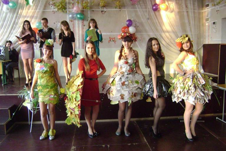 Осенняя мода для осеннего бала фото