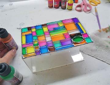Краска для витража своими руками в домашних условиях