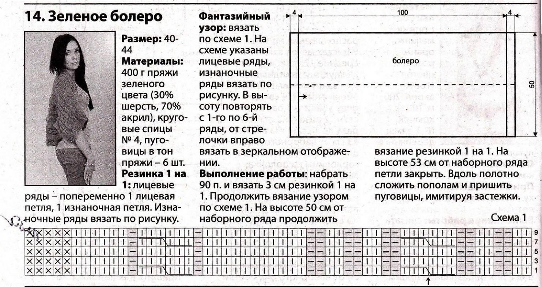 Шраг спицами схемы и описание для начинающих