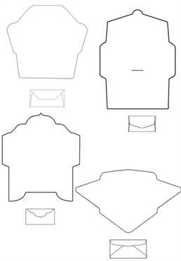 Схемы конвертов для лд