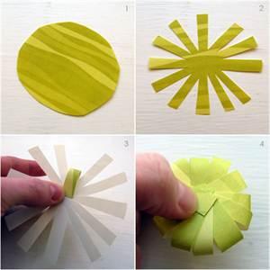 Как вырезать красиво цветы из цветной бумаги своими руками 82
