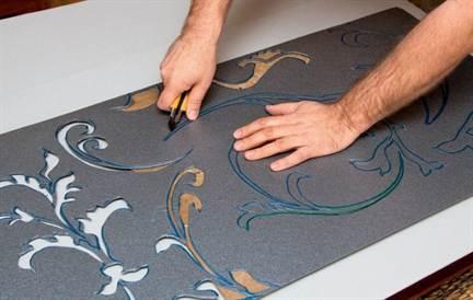 Как своими руками нанести рисунок на плитку