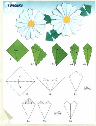 Цветок на стебле из бумаги своими руками 34