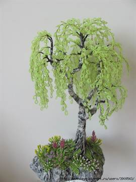 Мастер-класс цветы из бисера: видео про полевые цветы и деревья в горшках