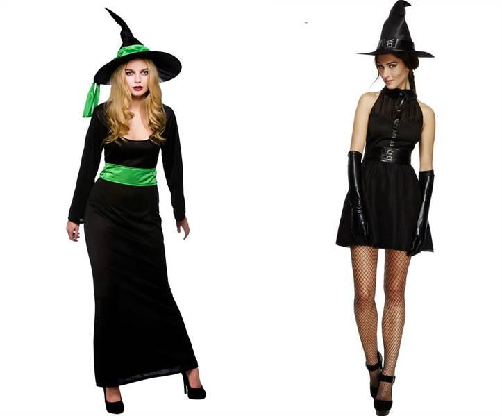 Костюм ведьмы своими руками на Хэллоуин с фото - photo#4