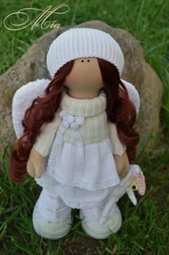 Платье для куклы большеножки мастер класс